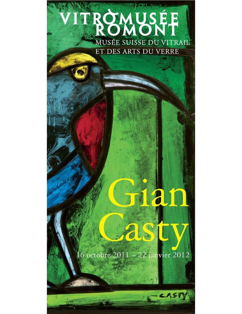 Gian Casty Ausstellungen - Glaskunst aus der Schweiz