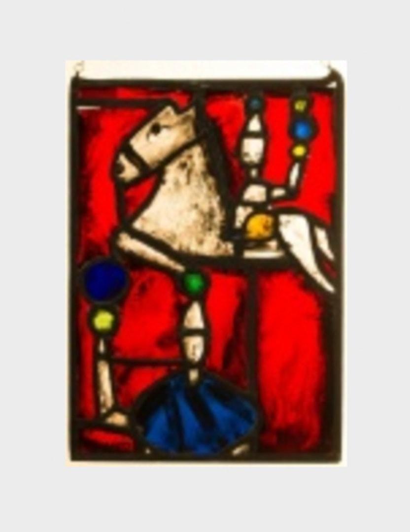 Glasbild In der Zirkusmanege zur Versteigerung - Gian Casty aus der Schweiz