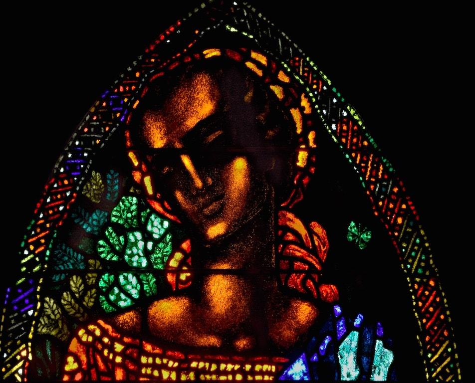 Kirchen Glasmalerei aus der Schweiz - Gian Casty