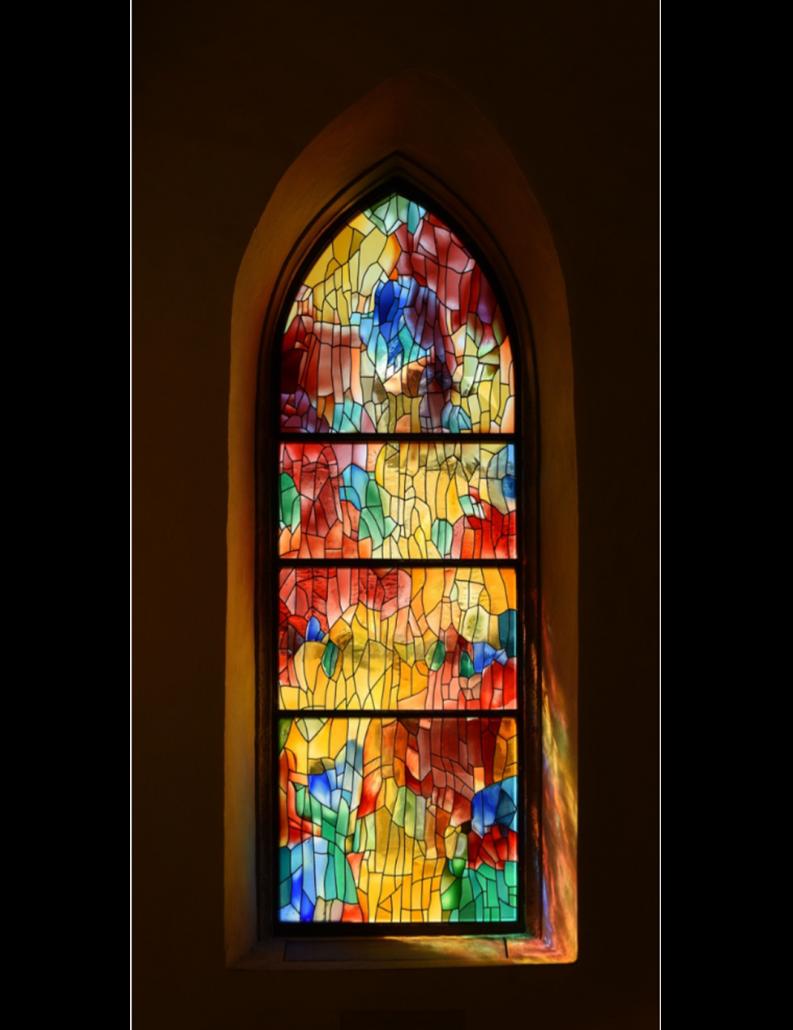 Kirchen Glasmalerei von Constant Könz - Gian Casty Glaskunst Projekte